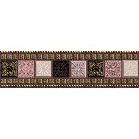 Бордюр: Arabesque 6x20 Сорт1 коричневый, (AY1A111)