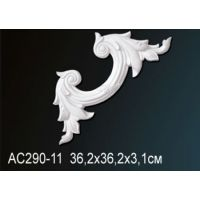 Декоративный угол для молдингов  AC290-11 36.2*36.2*3.1cm