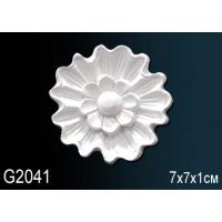 Декоративная розетка из полиуретана G2041 7см