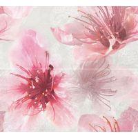 Керамическое панно:(2- шт)  Bloom, 40x44, Сорт1, розовый  толщ. 8 (BM2G072DT)