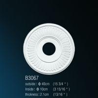 Декоративная розетка В3067  d 40*10 cm
