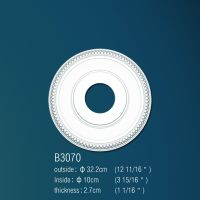 Декоративная розетка В3070 d32.2 cm