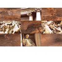 Вставка: Trevi 30x45 С1 коричневая 8,5мм (10шт), (TY2N112D)