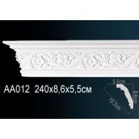 Плинтус потолочный с рисунком АА012 240х8,6х5,5 см