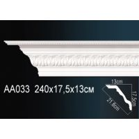 Плинтус потолочный с рисунком AA033 c 240*13*17,5 см