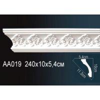 Плинтус потолочный с рисунком АА019 240х10х5,4 см