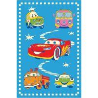 Ковер Aquarelle KIDS 2,05х3,00 Голубой машины