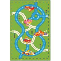 Ковер Aquarelle KIDS 2,05х3,00 Зеленый - Дороги