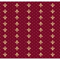 Ковролан Berber - Luiza  3601 8 20733   4м бордовый с лилиями