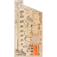 Банная станция Термометр+песочные часы