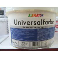 Водоэмульсия Universalfarbe для фасадов погодостойкая 10л (16кг)