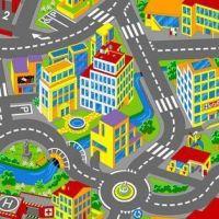 Ковролан  Smart City (город)  97 серый 4 м
