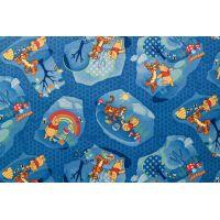 Ковролан  Winnie Woodland голубой, 4м