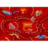 Ковролан World of cars красный, 4м