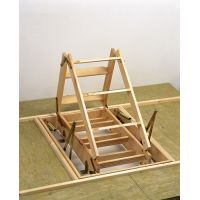 Лестница-люк чердачная Dolle MINI 87.5x70 h=265