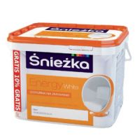 Водоэмульсия Sniezka ENERGY White  9 л