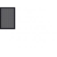 Дорожка  Lod 5195/6g48  1,35х1,90 Черно-бел. треугольники