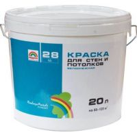 Водоэмульсия для стен и потолков Радуга 28 3,5кг.