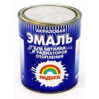 Эмаль Акриловая  по металлу и для радиаторов  (1л)