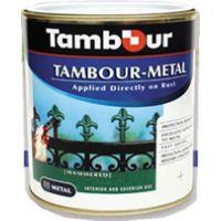 Тамбур-металл  0,75л серая.  №321
