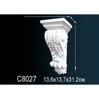 Декоративная консоль С8027 13,6х13,7х31,2см