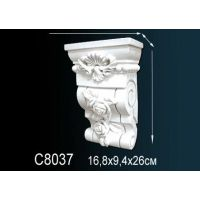 Декоративная консоль С8037 16,8х9,4х26см