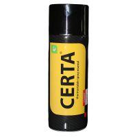 Эмаль ЦЕРТА аэрозольная термостойкая 7500 черная
