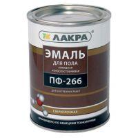 Эмаль ПФ- 266 ЛакраСинтез золотисто-коричневая  1 кг  Л-С