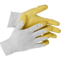 Перчатки Stayer латекс х/б L-XL 11408-XL