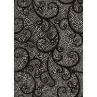 Декор Капри жемчуг черный 25х35