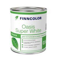 Водоэмульсия OASIS SUPER WHITE краска для потолков 0.9 л