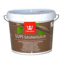 Supi Saunasuoja колеруемый акрилатный защитный состав для бани 2,7л