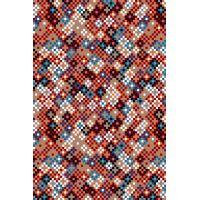 Ковёр KOLIBRI FRIZE 11160/122 1,60 х 2,30 Цветные звёздочки