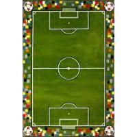 Детский коврик 1,33х1,90 11118/130 Футбольное поле