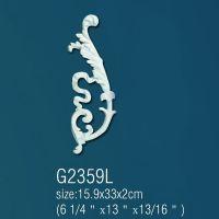 Декоративный орнамент G2359L (15,9 х 33 х 2см)