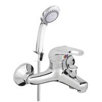 Смеситель для ванны с коротким изливом P-10/K  STAR (P10K01)