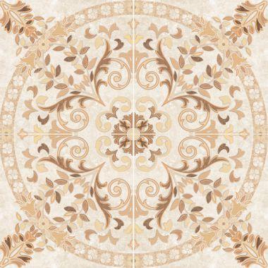 Напольное панно: Pompei, 88x88, Сорт1, светло-коричневое (PY6G304)