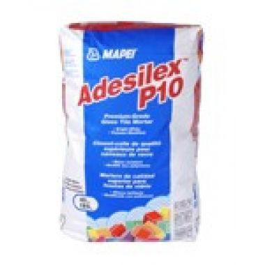 Белый клей для мозаики, 25кг. Adesilex P10 улучшенный