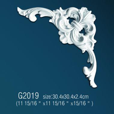 Орнамент из полиуретана G2019  30.4*30.4*2.4 cm