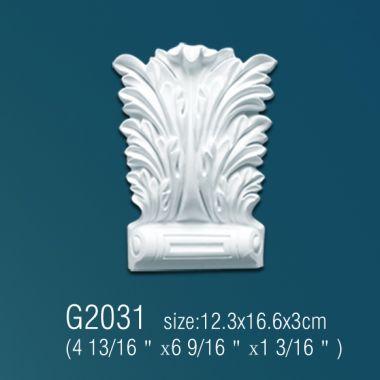 Орнамент из полиуретана G2031  12.3*16.6*3 cm