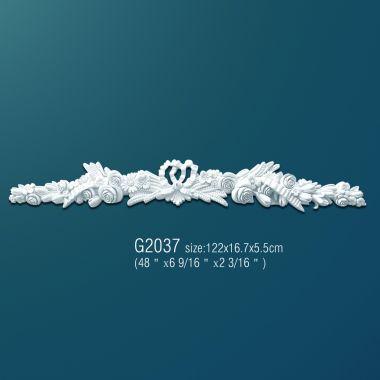 Орнамент из полиуретана G2037 122х16.7х5.5 см