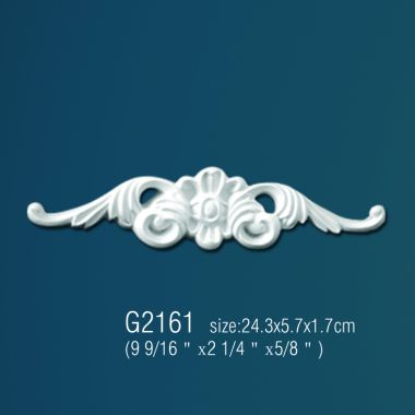 Орнамент из полиуретана G2161 23,9х5,7х2,3см