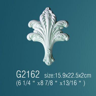 Орнамент из полиуретана G2162 15,9х22,5х2см