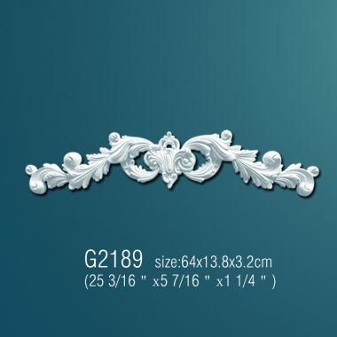 Орнамент из полиуретана G2189 63,5х14х3,5см