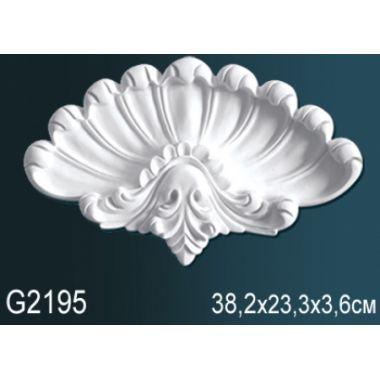 Орнамент из полиуретана G2195 38,2х23,3х3,6см