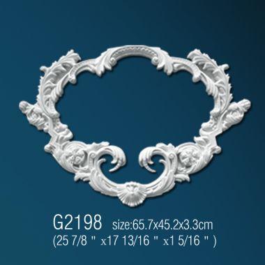 Орнамент из полиуретана G2198 65,7х45,2х3,3см