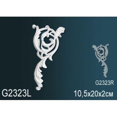 Орнамент из полиуретана G2323Л (R)10,5х20х2см