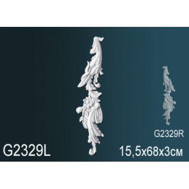 Орнамент из полиуретана G2329Л (R)15,5х68х3см