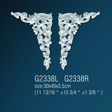 Орнамент из полиуретана G2338L (R) 30*40*3.5 cm