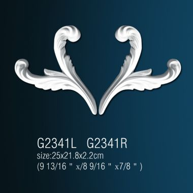 Декоративный орнамент G2341L(R)  25*24*3 cm